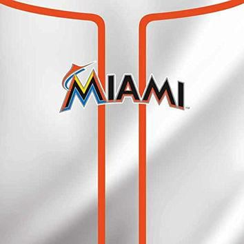 MLB Miami Marlins iPad Mini 4 Skin - Miami Marlins Home Jersey Vinyl Decal Skin For Yo