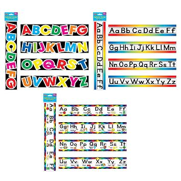14ct Alphabet Bulletin Board Borders