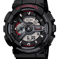 Casio Mens XL G-Shock - Analog Digital - 3D Dial - Anti-Magnetic Structure