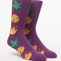 HUF It's Lit Crew Socks at PacSun.com