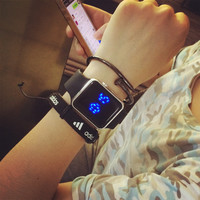 Awesome Trendy Stylish Good Price Designer's Gift New Arrival Great Deal Creative Noctilucent Korean Fashion Sweets Electronic Watch [4920416196]