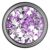 Purple Light Star Rhinestone
