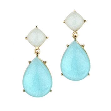 Pear Drop Earring for Prom, Bridesmaids and Homecoming