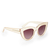 Pink BCBG Novelty Cat-Eye Sunglasses