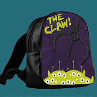 toy story aliens the claw 2 for Backpack / Custom Bag / School Bag / Children Bag / Custom School Bag *
