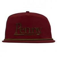 Penny Skateboards USA Penny Maroon/Copper Cap - CAPS - APPAREL - SHOP ONLINE