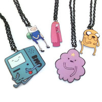 BMO Necklace, Adventure Time, Beemo, Cute Kawaii Laser Cut Necklace