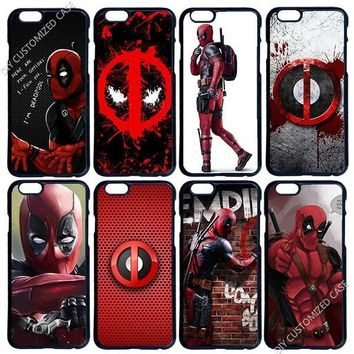 Deadpool Phone Cover Case for Apple iPhone 5 5S SE 6 6S 7 8 Plus X XS Max XR Samsung Galaxy Note 8 9 S6 S7 S8 S9 Edge Plus