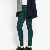 NEOPRENE TROUSERS - Trousers - TRF | ZARA United Kingdom