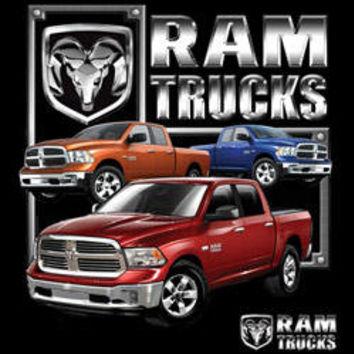 DODGE  ram trucks sports  cars  pick up truck t-shirt tee shirts Licensed T-SHIRTS car trucks tee shirts