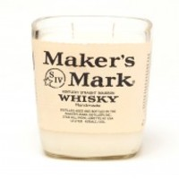(1) Makers Mark® 20 oz Candle With Wick - Bottle Heaven