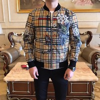 2019 Burberry Spring and summer new men and women sweater  trend couple models print