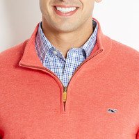 Ridgefield Fine Striped 1/4-Zip Sweater