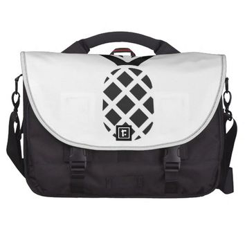 Black Pine Apple Laptop Bag