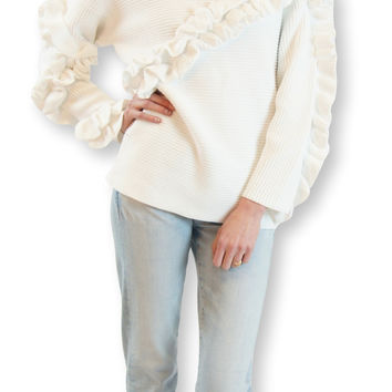 french connection | ruth frill sweater