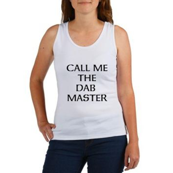 THE DAB MASTER Tank Top> THE DAB MASTER> 420 Gear Stop