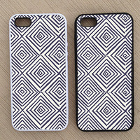 Cute Geometric Abstract iPhone Case, iPhone 5 Case, iPhone 4S Case, iPhone 4 Case - SKU: 146