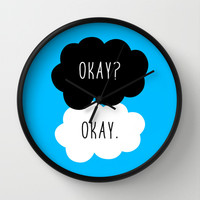Okay? Okay. The Fault in Our Stars Wall Clock by Janice Wong | Society6