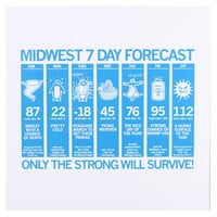 Midwest Forecast Poster