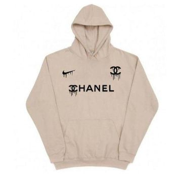 ONETOW Chanel x Nike Fashion hoodies Top Sweater Sweatshirt