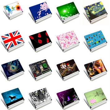 "Hotest PVC Dust-proof Waterproof Notebook Skin Netbook Cover Laptop Sticker Decal For 12"" 13"" 14"" 15"" 15.6"" Laptop Notebook"