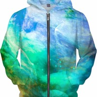 Galactic Sea [Orion Nebula] | Universe Galaxy Nebula Star Space Clothes | Rave & Festival Shirt