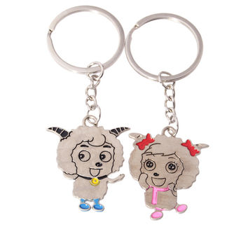 Great Deal Trendy Functional Hot Sale Creative New Arrival Gift Metal Couple Keychain [11496558031]