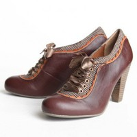Poetic License Backlash oxfords at ShopRuche.com, Vintage Inspired Clothing, Affordable Clothes, Eco friendly Fashion