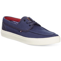 Tommy Hilfiger Mesa Canvas Boat Shoes