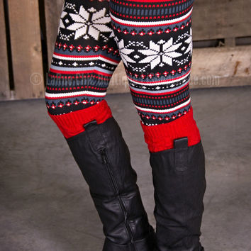 LARUE HOLIDAY LEGGINGS - ONE