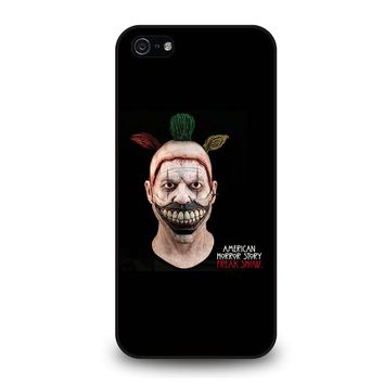 AMERICAN HORROR STORY TWISTY THE CLOWN iPhone 5 / 5S / SE Case