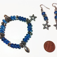 Dallas Cowboy Inspired Bracelet, Football jewelry, fan accessories, stocking stuffers, gift ideas, Texas football, Dallas Cowboys jewelry