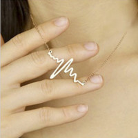 Fashion wild letters necklace, small love necklace