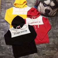 Supreme Women Hot Hoodie Cute Sweater