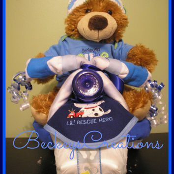Diaper Tricycle / 3 Wheeler Diaper Cake
