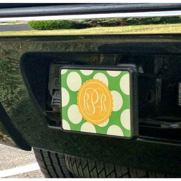 Personalized Square Trailer Hitch DESIGN YOUR OWN