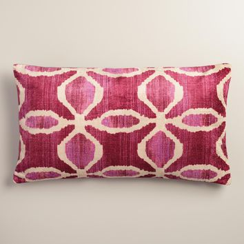 Shop Ikat Lumbar Pillows on Wanelo