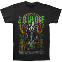 Rob Zombie Men's  Great American Nightmare Slim Fit T-shirt Black