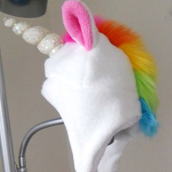 Unicorn Hat - Adult Size