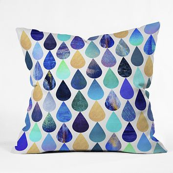 Elisabeth Fredriksson H2O Throw Pillow