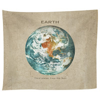 Third Planet from the Sun Tapestry