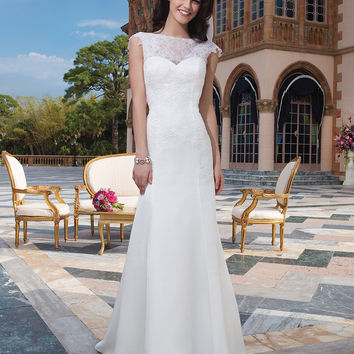 Sincerity Bridal 3826 Sample Sale Wedding Dress Ivory Size 12