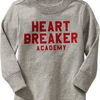 """Heart Breaker Academy"" Tees for Baby"