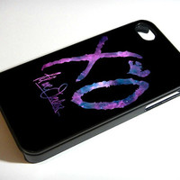 THE WEEKND XO Nebula Galaxy Space iPhone Case And Samsung Galaxy Case