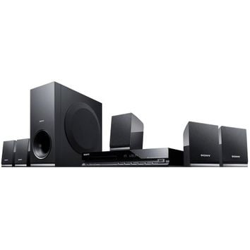 Sony - 300W 5.1-Ch. DVD Home Theater System - Black