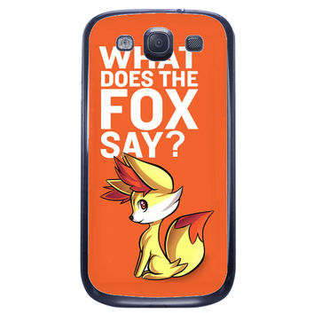What Does The Fox Say Samsung Galaxy S3 Case