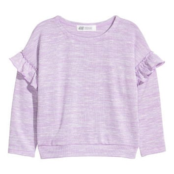 Sweater with Ruffles - from H&M