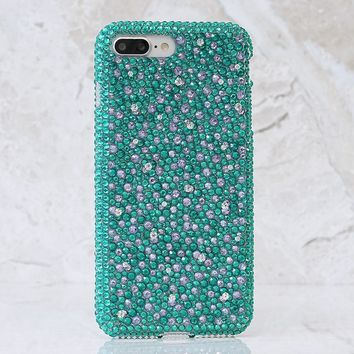 Turquoise and Lavender Crystals Design (style 950)