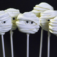 Halloween Mummy Oreo Pops  12 pops