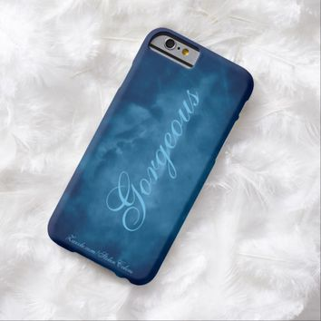 Blue Sky Gorgeous Barely There iPhone 6 Case